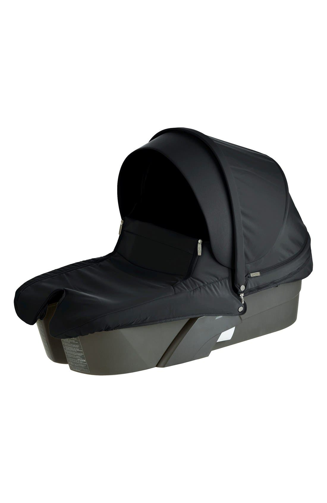 'Xplory<sup>®</sup>' Stroller Carry Cot,                         Main,                         color, Black