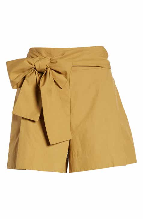J.Crew Cotton Poplin Tie Waist Shorts By J.CREW by J.CREW Top Reviews