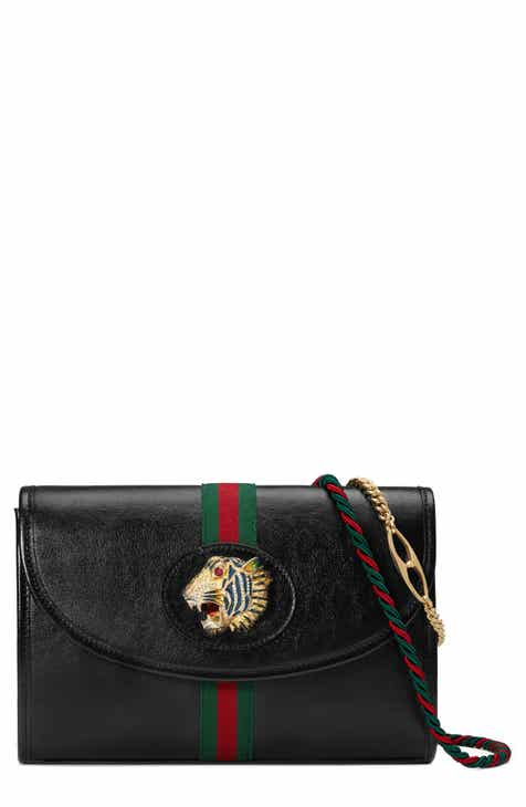 91bad568cc6 Gucci Small Linea Rajah Leather Shoulder Bag