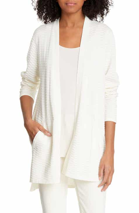 8d311b951b Eileen Fisher Silk   Organic Cotton Cardigan (Regular   Petite)