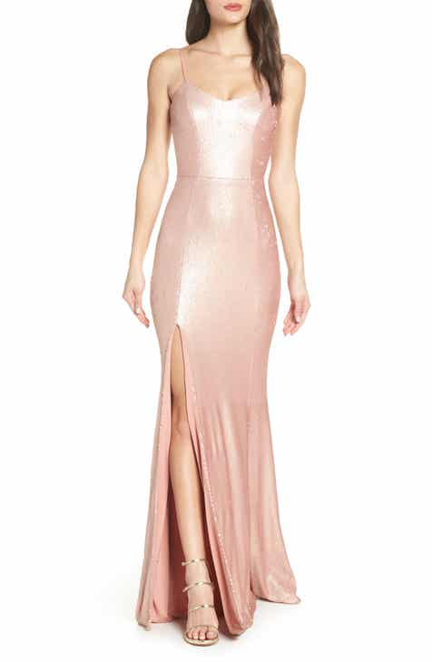 fb15f9e56a7c Dress the Population Ingrid Sequin Evening Dress