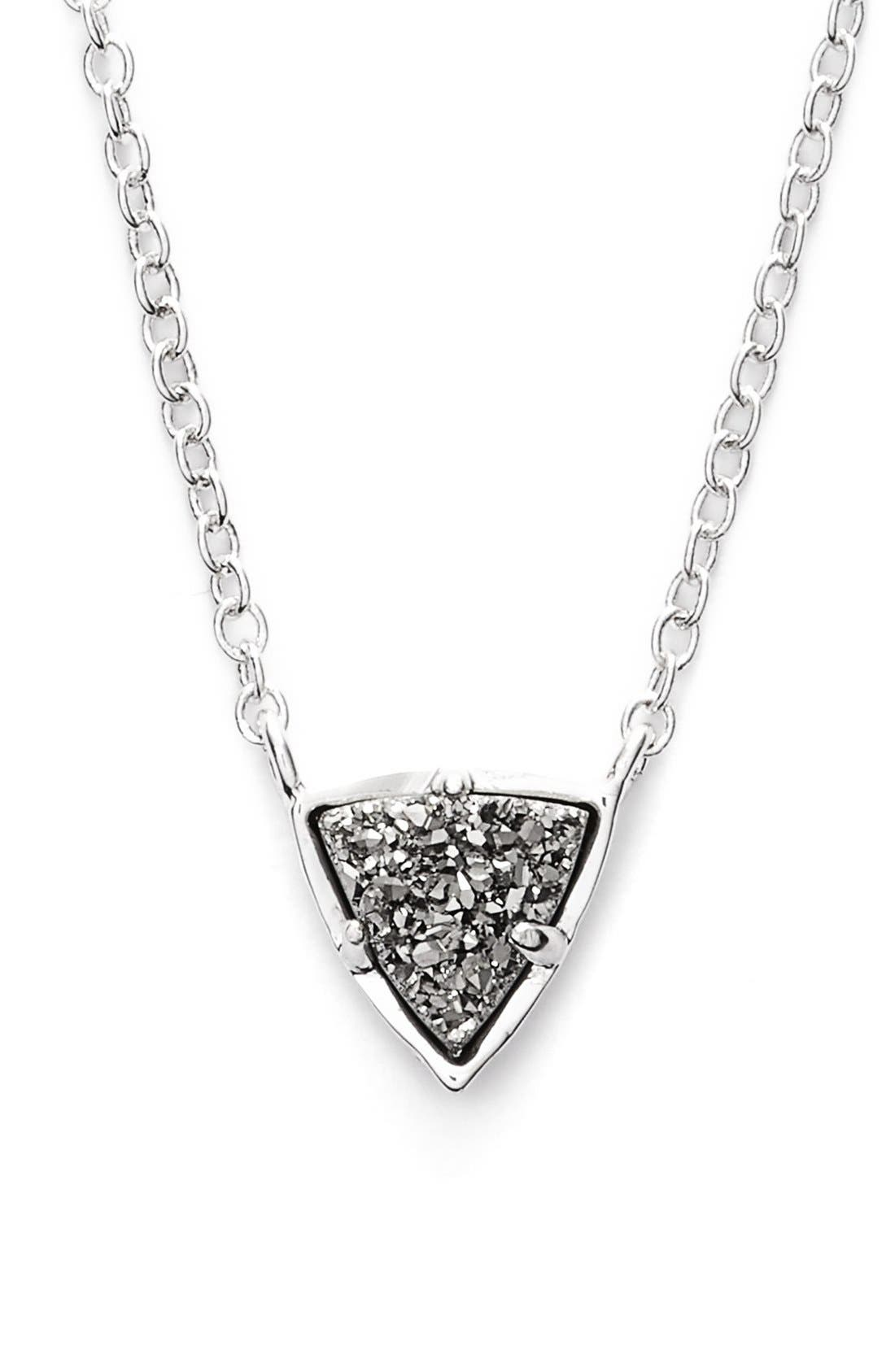 Alternate Image 1 Selected - Kendra Scott 'Perry' Drusy Pendant Necklace