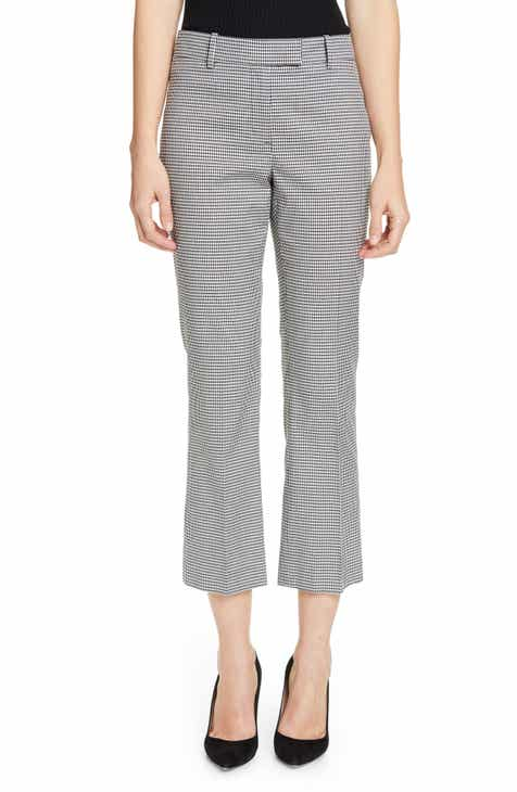 Michael Stars Rima Tapered Crop Linen Pants by MICHAEL STARS