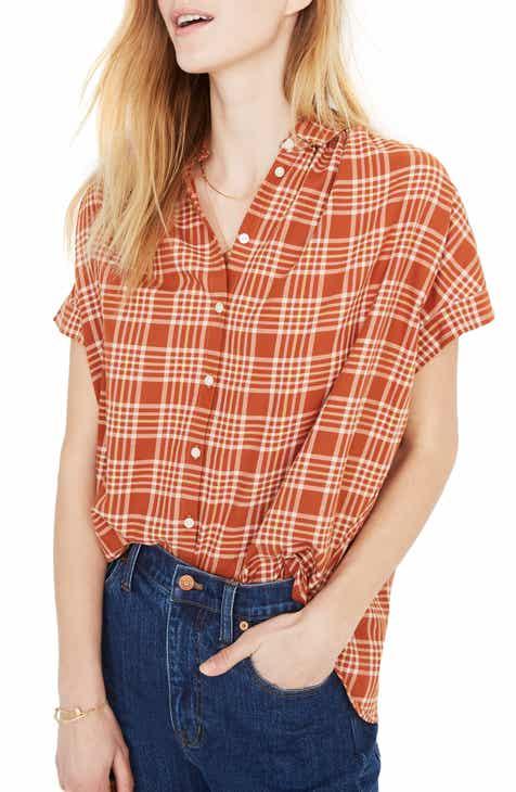 9e598f926032 Madewell Central Plaid Shirt