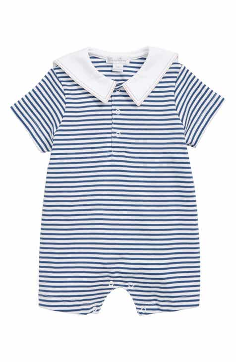 02f1342e1708 Baby Boy Kissy Kissy Rompers   One-Pieces  Woven