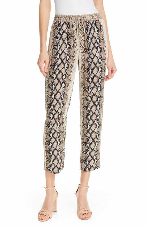 Akris 'Melissa' Slim Techno Cotton Pants by AKRIS