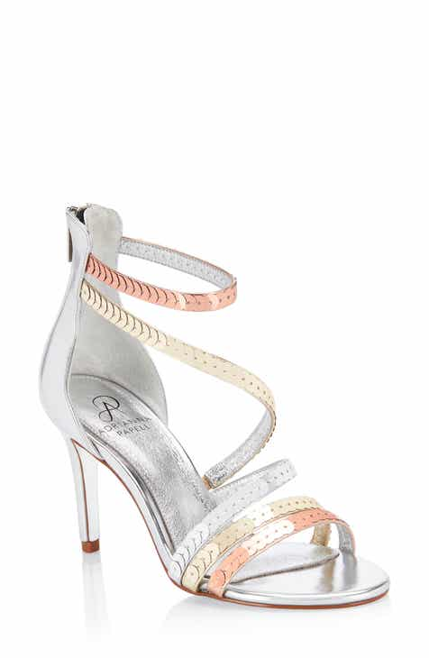 55134f19a37889 Adrianna Papell Alexi Sequin Strappy Sandal (Women)
