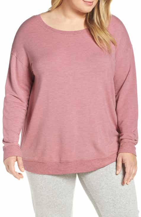 PJ Salvage Lounge Essentials Long Sleeve Tee (Plus Size) by PJ SALVAGE