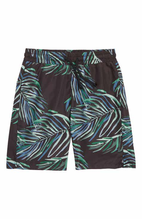 Sometime Soon Splash Swim Shorts (Toddler Boys & Little Boys)