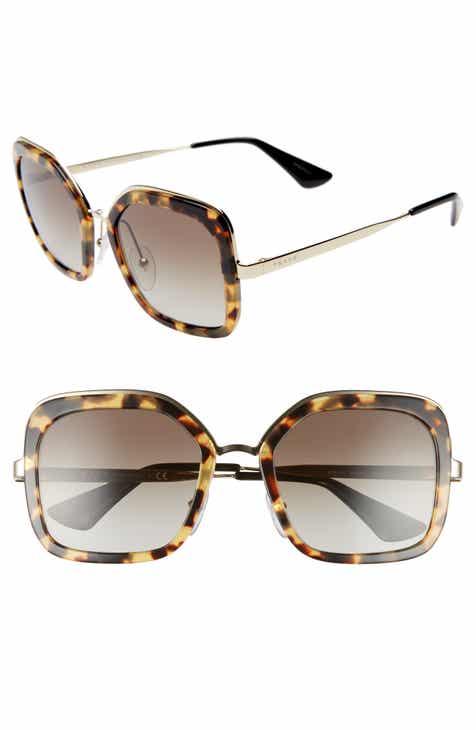 a38a20ed952 Prada Women s Square Sunglasses   Eyewear