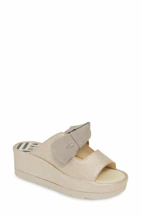 c1a7b99746470 Fly London Bade Knotted Platform Slide Sandal (Women)