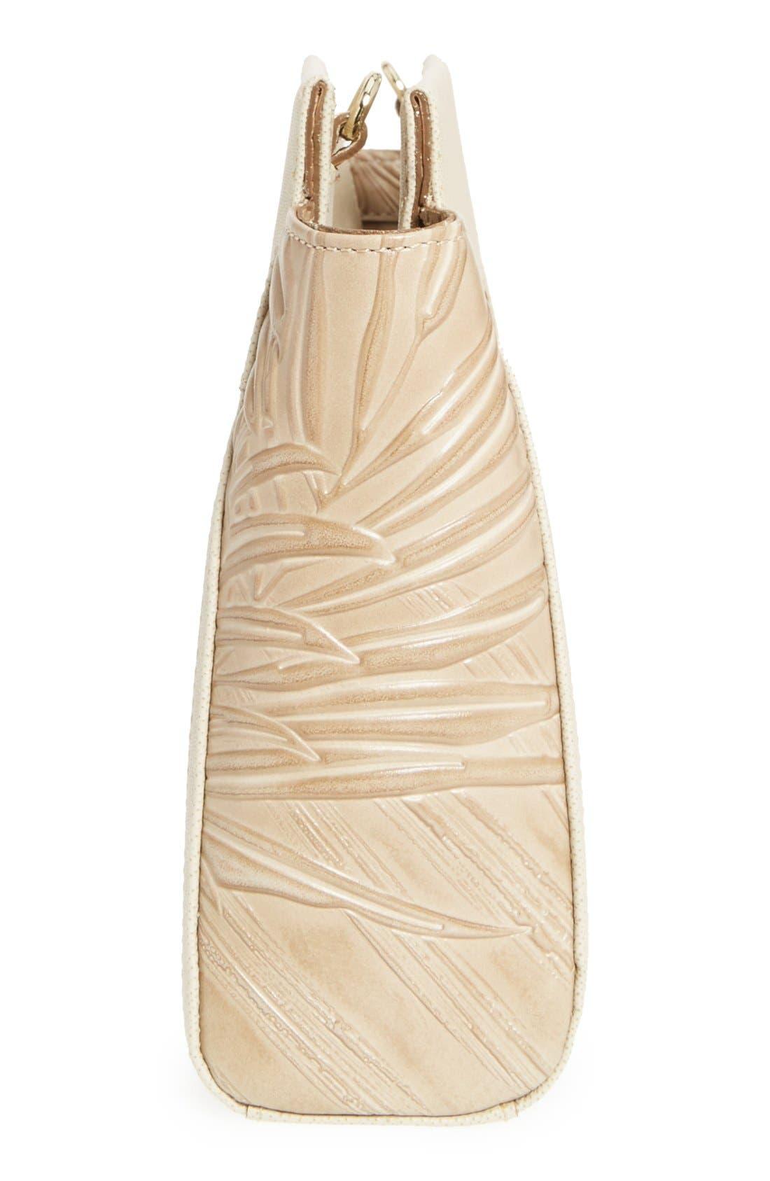 Alternate Image 4  - Brahmin 'Lenox' Embossed Leather Clutch