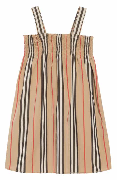 63b7c49fe367e Burberry Junia Stripe Dress (Toddler Girls, Little Girls & Big Girls)