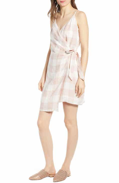 Heartloom Whyatt Check Wrap Dress by HEARTLOOM