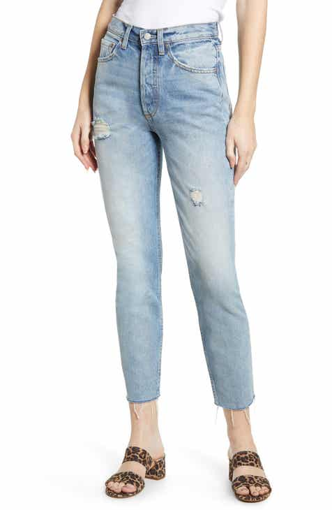 509aac06e Boyish Jeans The Billy High Waist Ankle Skinny Jeans (Taxi Driver)