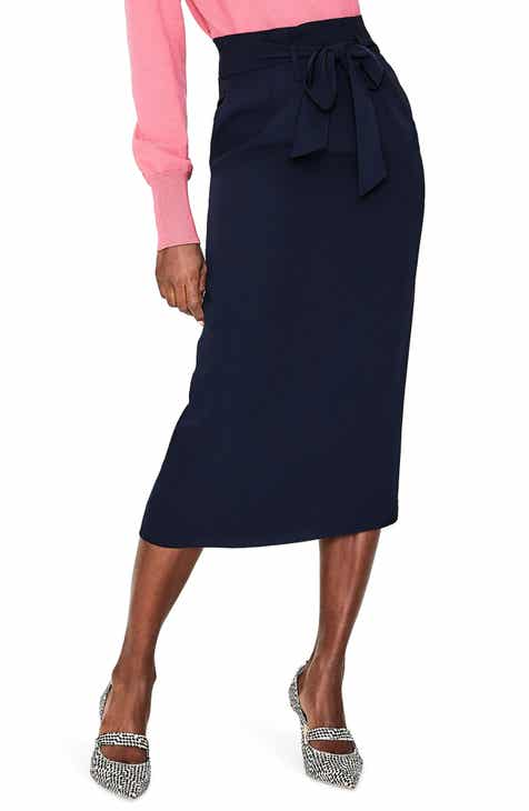 Chaus Belted Pencil Skirt by CHAUS