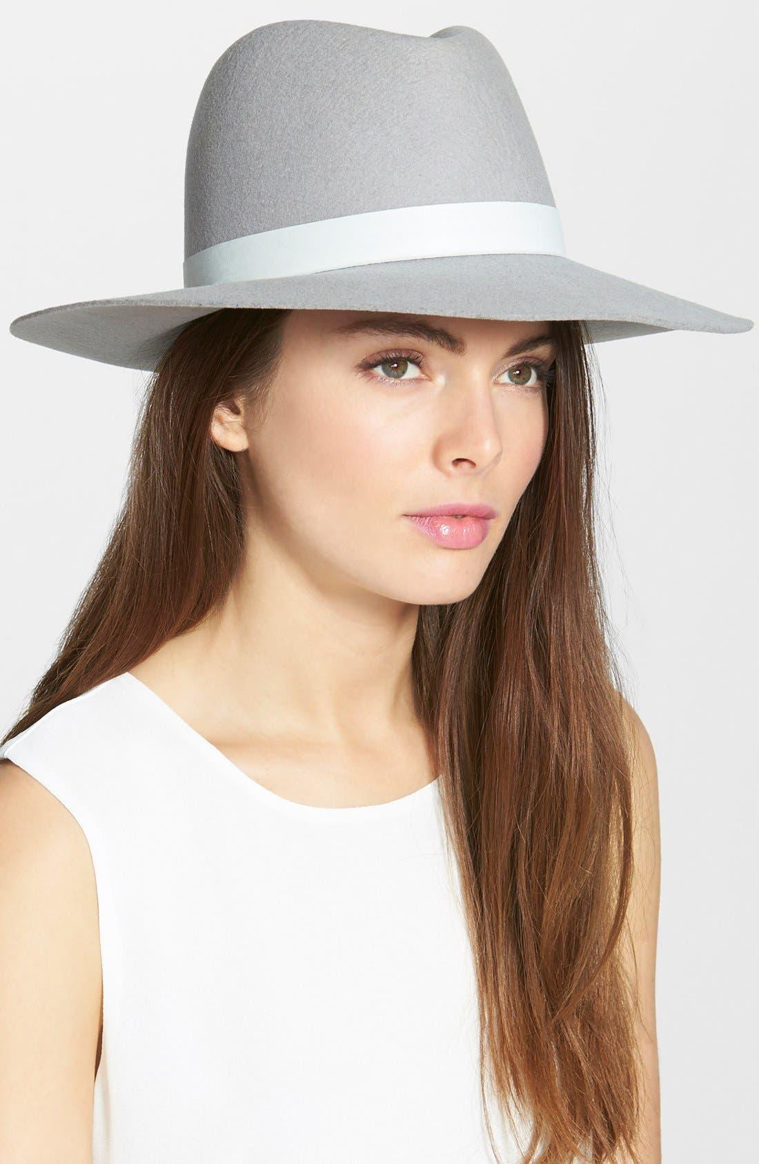 Alternate Image 1 Selected - Janessa Leone 'Henningsen' Wool Hat