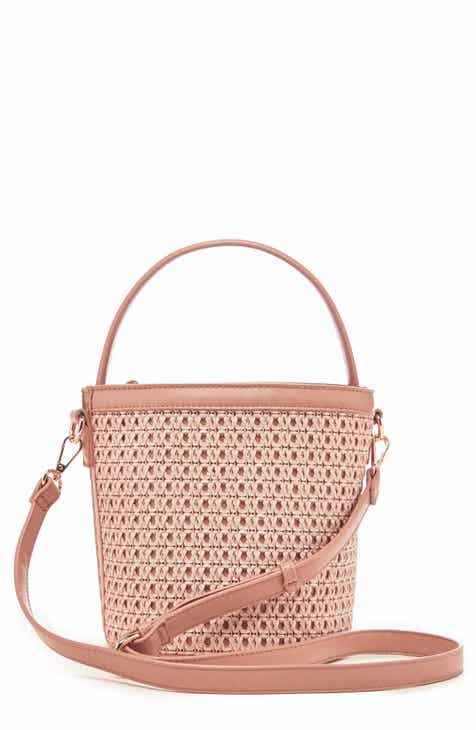 2b9756e815d Sole Society Nikole Woven Bucket Bag