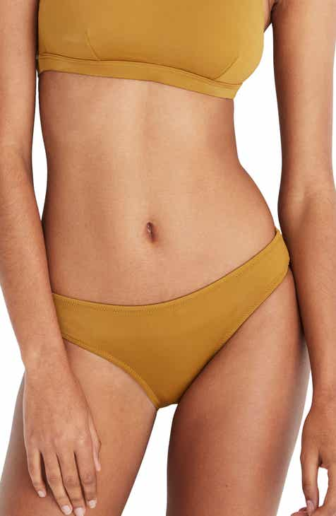 The Bikini Lab Colorblock Stripe Hipster Bikini Bottoms by THE BIKINI LAB