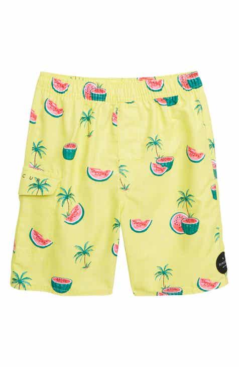 Rip Curl Mellon Volley Board Shorts (Toddler Boys   Little Boys) c300214ecdda9