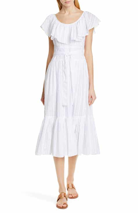 48e9ffff700 Tory Burch Stripe Seersucker Dress
