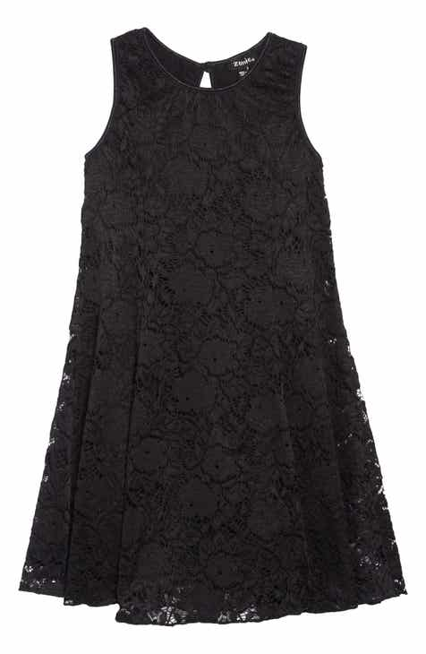 Zunie Floral Lace Sleeveless Dress (Toddler Girls   Little Girls).  42.00.  Product Image 9d34d02af
