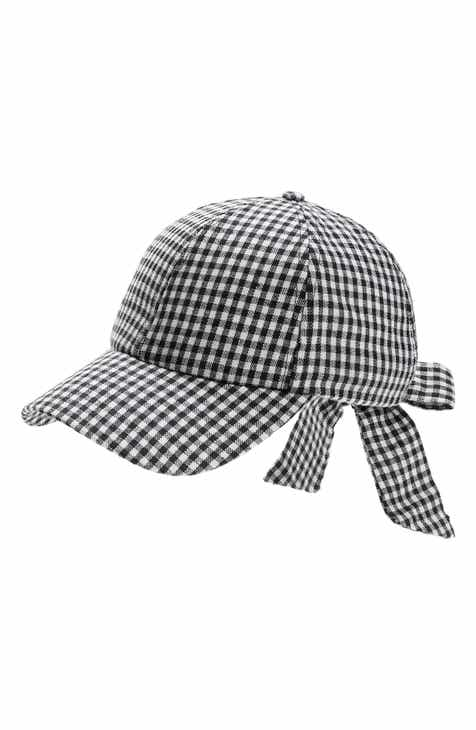 7cfcaa25229 Tucker + Tate Gingham Baseball Cap (Big Girls)