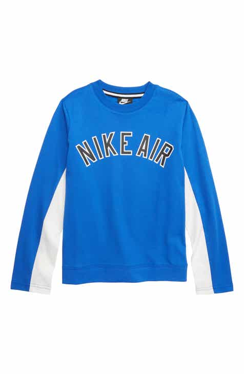 cd4511e6c0 Nike Air Colorblock Long Sleeve T-Shirt (Little Boys   Big Boys)