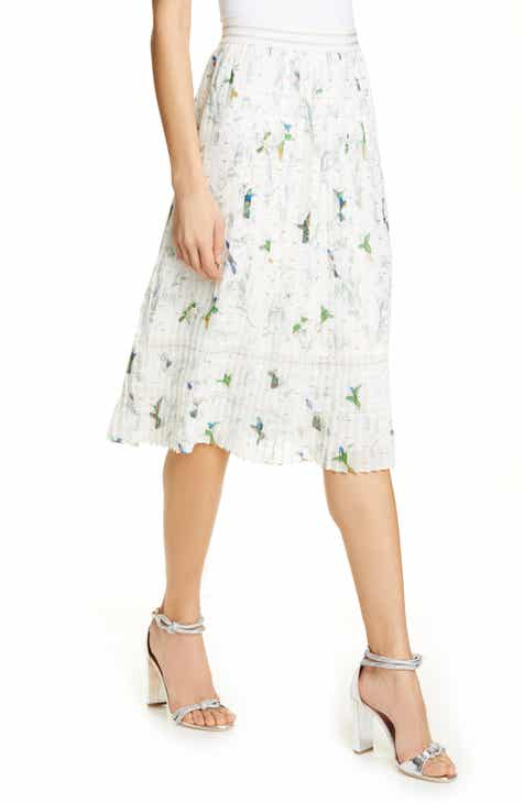 Ted Baker London Linnett Fortune Pleat Skirt by TED BAKER LONDON