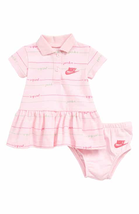 8e7536b53ff6 Nike Stripe Polo Dress (Baby)
