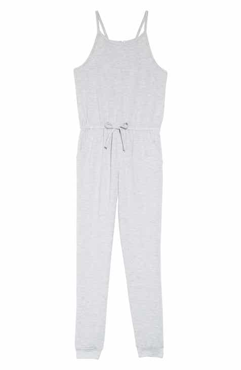 870994dbb72 Habitual Girl Lorrie Loose Knit Jumpsuit (Toddler Girls   Little Girls)