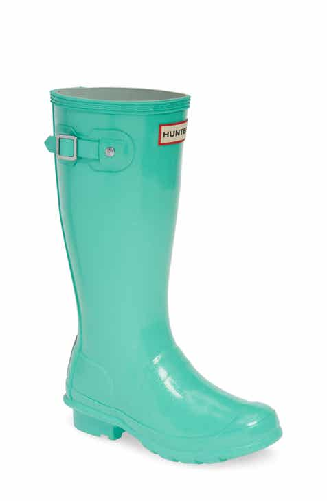 702e765d468b94 Hunter Starcloud Glitter Rain Boot (Little Kid   Big Kid)