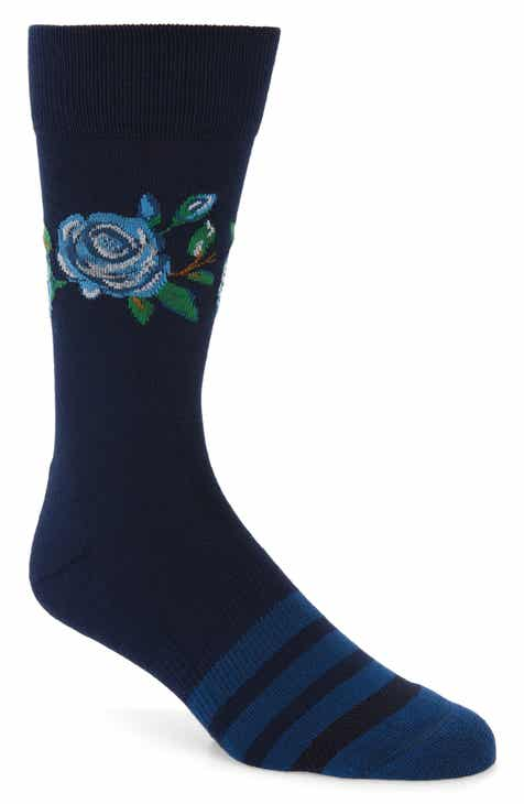 e255c2685f49 Nordstrom Men s Shop Statement Floral Socks (3 for  30)