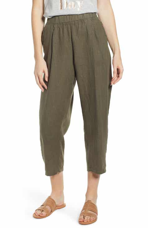54f9bf5e12 Women's 100% Linen Pants & Leggings | Nordstrom