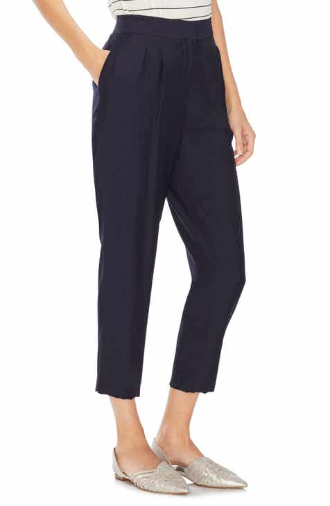 Stone Row Tropi Twist Tie Waist Pants by STONE ROW