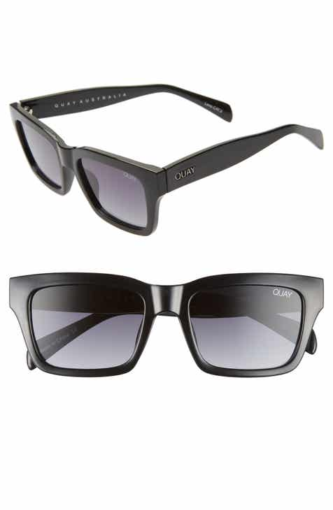 2cec3faef7 Quay Australia In Control 44mm Rectangle Sunglasses