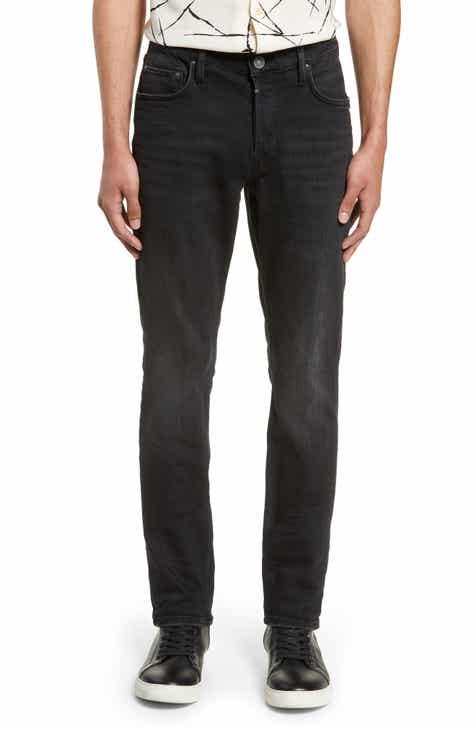 ALLSAINTS Rex Straight Leg Jeans (Dark Grey) b5b3668fd