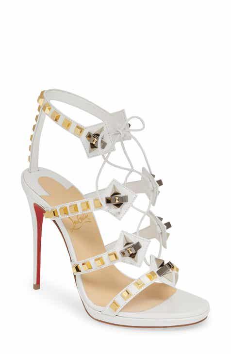 02db0532906 Christian Louboutin Multiplaticool Studded Gladiator Sandal (Women)