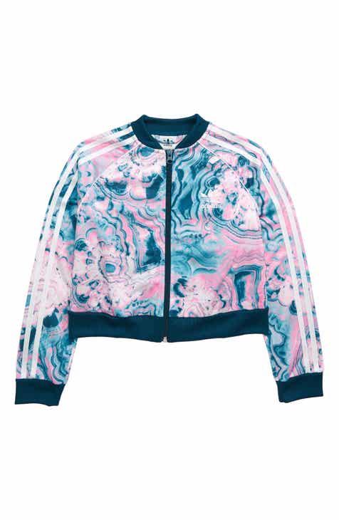 63c294a3a7cc3 adidas Originals Zip Track Jacket (Big Girls)