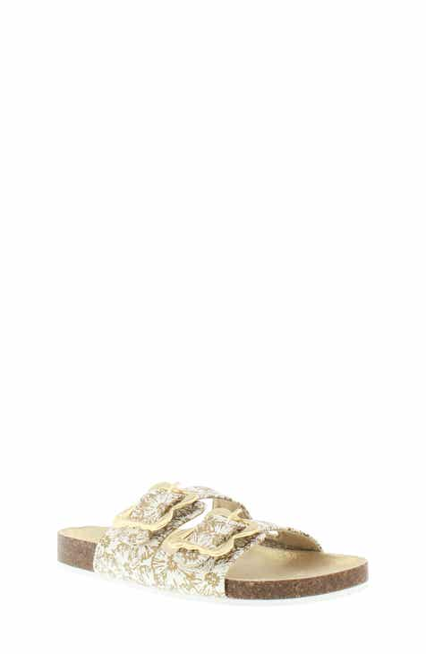 2281cf1536fc MICHAEL Michael Kors Ethel Cosmos Sandal (Toddler