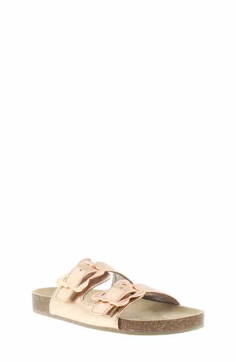5dab703ee MICHAEL Michael Kors Ethel Chrysalis Slide Sandal (Walker, Toddler, Little  Kid & Big Kid)