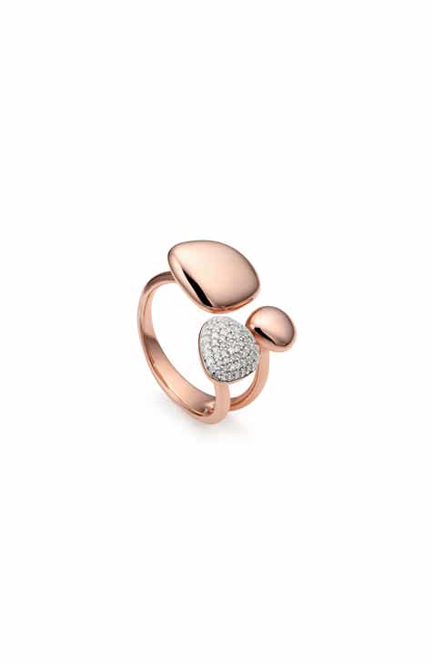 b3355f73e6343 Monica Vinader Nura Pebble Cluster Diamond Ring