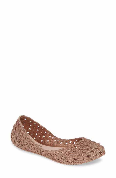 68765fb1d91 Melissa Campana Croc Flat (Women)