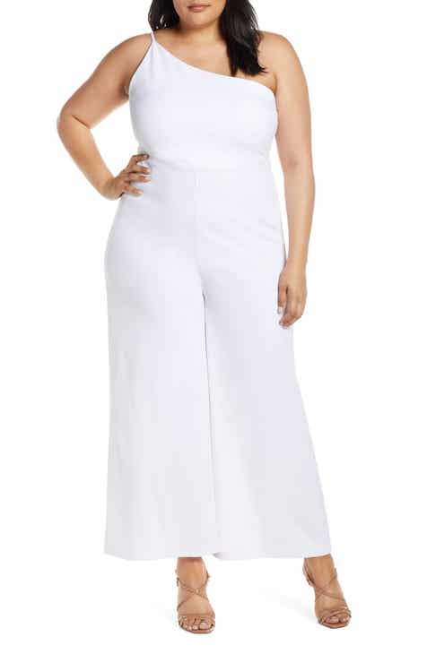 c047275d017 Leith One-Shoulder Jumpsuit (Plus Size)