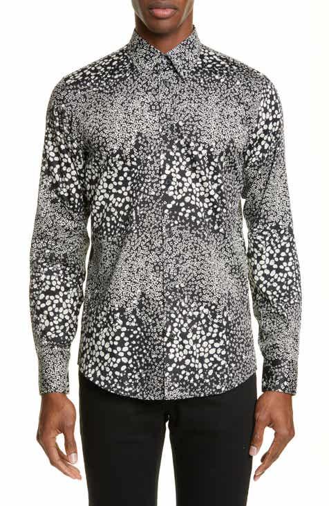 d8a8d1a99ed Givenchy G   Daisy Print Sport Shirt