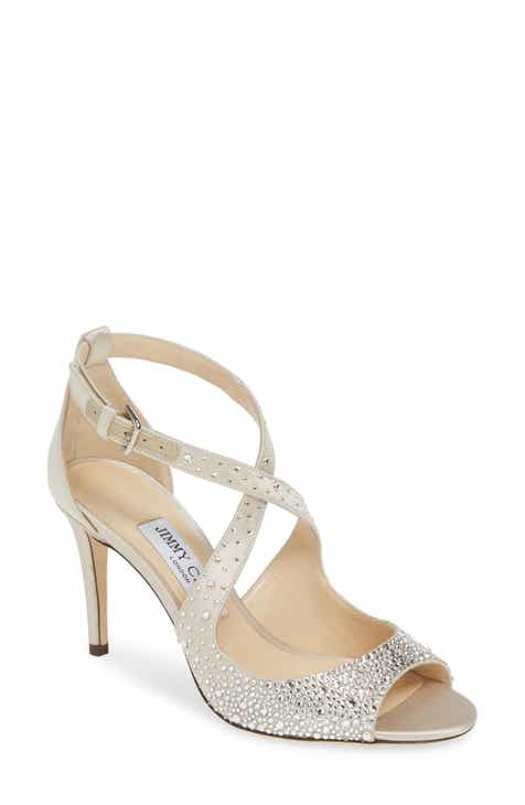 b9700a24e3f2 Jimmy Choo Emily Crystal Embellished Sandal (Women)
