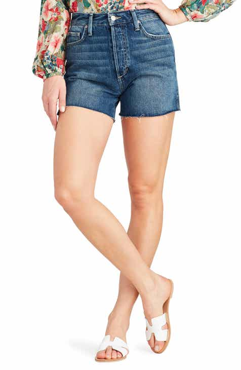 Joe's Smith High Waist Split Hem Shorts by JOES