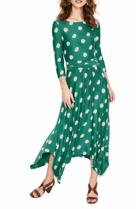 0bf19ba3ca5 Boden Maisie Matte Jersey Midi Dress (Regular   Petite)