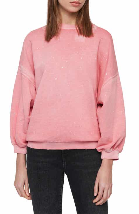 Vince Camuto Layered Look Stripe Hoodie by VINCE CAMUTO