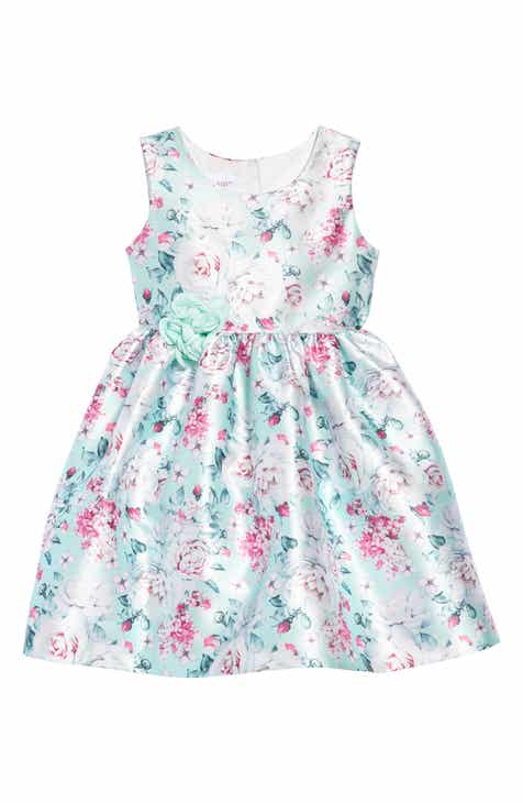 c106f457e6af Frais Rose & Pansy Party Dress (Toddler Girls, Little Girls & Big Girls)